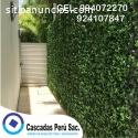 jardin vertical artificial decorativo