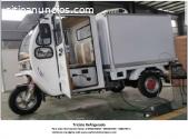 Motocicleta furgon refrigerado (triciclo
