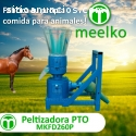 Peletizadora Meelko 260 mm 35 hp PTO