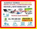 Tecnico de internet Cableados de red