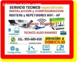 TECNICO INTERNET REPETIDORES WIFI
