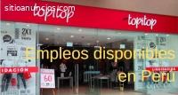 Topitop tiene más de 80 vacantes de empl