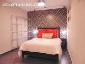 Procura uma suite totalmente mobilada?