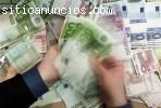 Oferta de préstamo seria a las personas honestas y solventes