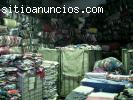 Mayorista venta fardos/pacas de ropa