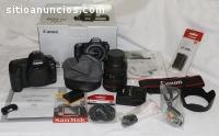 Canon 5D mark ii con lente