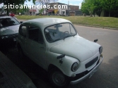 FIAT 600 D DE ORIGEN ITALIANO año 67