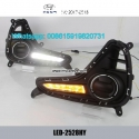 Hyundai i10 LED cree DRL daytime lights