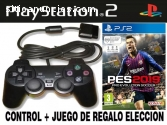 Joystick para Play2 + game a eleccion