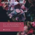 Lic. en psicología Daniela Fernández