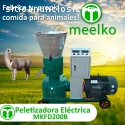 Peletizadora Meelko 200mm electrica 7.5k