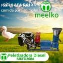 Peletizadora Meelko 260 mm 35 hp DIESEL