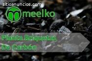 Planta Briquetas De Carbón MEELKO