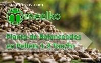 Planta de Balanceados en Pellets 1-2 Ton