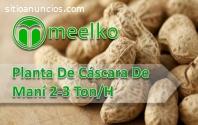 Planta De Cáscara De Maní 2-3 Ton/H MEEL