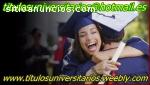 titulos universitarios