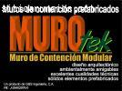 MUROS DE CONTENCIÓN MODULAR