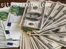 Oferta de préstamo de dinero rápido y se