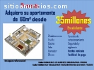 APARTAMENTOS DE 60M² DESDE 35MILLONES EN