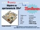 apartamentos por 35.000.000bs