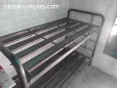 cama litera de hierro