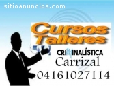 CURSO DE CRIMINOLOGIA, CRIMINALÍSTICA Y