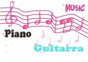 Cursos de Piano y Guitarra
