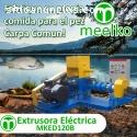 Extrusora Meelko para pellets flotantes