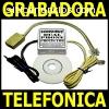 Grabadora Doble de Llamadas Telefonica