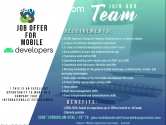 Job Offer for Mobile Developers