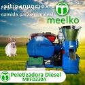 Máquina Meelkomadera 230 mm diésel