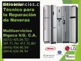 MULTISERVICIOS DE REPARACION DE NEVERAS