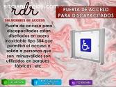 PUERTA DE ACCESO PARA DISCAPACITADOS - R
