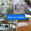 Pulitura pisos marmol, granito, parque.