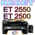 Reset Epson ET2500 ET2550