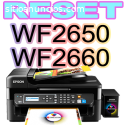 Reset Epson WF2650 WF2660