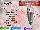 TORNIQUETE DE USO RUDO CON GABINETE CON