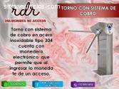 TORNO CON SISTEMNA DE COBRO- RDR SOLUCIO