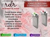 TORNO DOBLE PARA CONTROL DE ACCESO- RDR