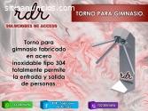 TORNO PARA GIMNASIO- RDR SOLUCIONES DE A
