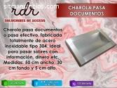 CHAROLA PASADOCUMENTOS- RDR SOLUCIONES D