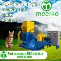 Extrusora Meelko alimento perros y gatos