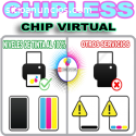 Firmware chipless chip virtual