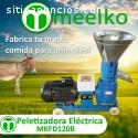 Máquina Meelko para hacer pellets 120