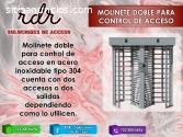 MOLINETE DOBLE PARA CONTROL DE ACCESO- R