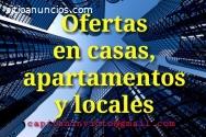 Ofertas en locales y apartamentos