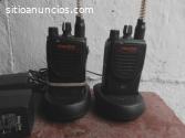 Par de radios UHF Motorola Mag One