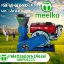 Peletizadora 120 mm 8 hp DIESEL MKFD120A
