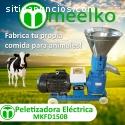 Peletizadora Meelko 150mm eléctrica 4kW