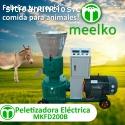 Peletizadora Meelko 200mm electrica 7.5k